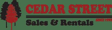 Cedar Street Sales & Rentals